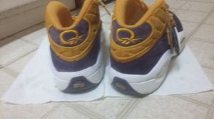 Reebok question mid crocus for Sale in Hyattsville, MD