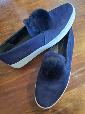 Michael Kors Collection navy suede fashion sneakers. size 8 for Sale in Duluth, GA