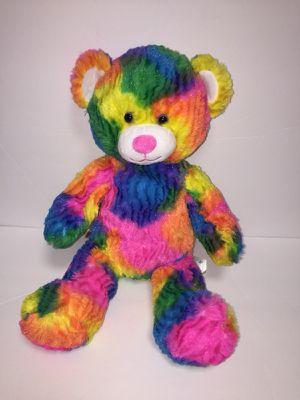 Rainbow tropicolor build a bear teddy bear stuff animal for Sale in Richmond, VA