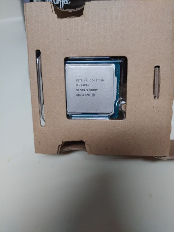 i9 -9900k Intel(core) i9
