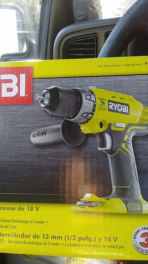 18 volt Ryobi drill and Driver with no battery included for Sale in Canton, MA