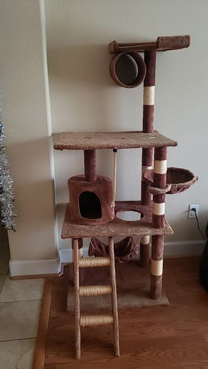 Tall cat tower for Sale in Manteca, CA