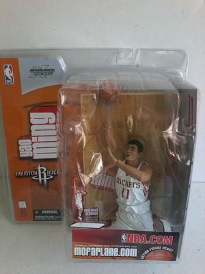 Yao Ming HOUSTON ROCKETS ACTION FIGURE for Sale in Las Vegas, NV