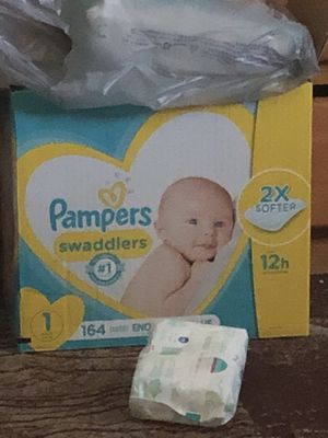 Pampers size 1 open box for Sale in Glendale, AZ