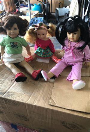 3 American Girl dolls for Sale in Houston, TX