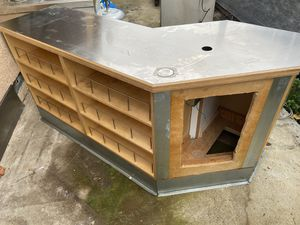 Free Counter with stainless steel top. Very sturdy for Sale in Union City, CA