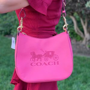 Brand new Coach Jes Pink Leather Hobo Purse for Sale in Lemon Grove, CA