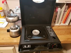 Portable camping stove and lantern for Sale in Homeland, CA