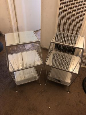 Glass end tables for Sale in Las Vegas, NV