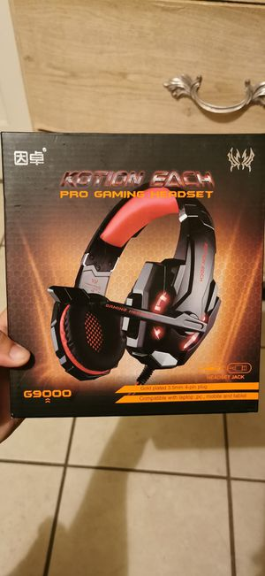 Kotion each pro gaming headset G9000 for Sale in Los Angeles, CA