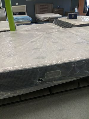 Beautyrest silver firm Cali king mattress 50 down same day delivery for Sale in Columbus, OH