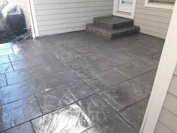 My concrete work for your rv ,razor,boat
