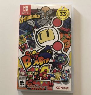Super Bomberman R - Nintendo Switch for Sale in Syracuse, NY