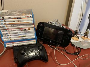 Nintendo Wii U for sale with games for Sale in Kenmore, WA