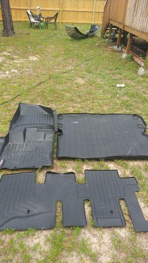 Weather Tech Floor Mat Set for Newer Nissan Pathfinder for Sale in Elgin, SC