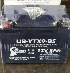 Brand new Motorcycle battery yamaha honda Suzuki kawasaki r6 cbr gsxr zx6r 600 750 600rr r6r for Sale in Pasadena, CA