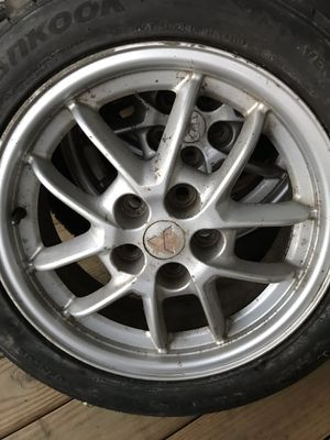 """17"""" Mitsubishi eclipse rims and tires for Sale in Middletown, PA"""