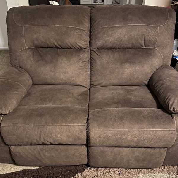 Ashley Home Balzano Reclining Sofa Couch & Loveseat