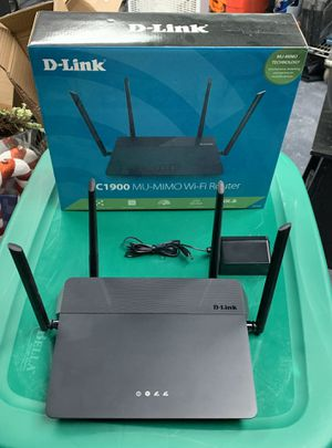 WiFi Router Dlink Dual Band MU-MIMO for Sale in Pembroke Pines, FL