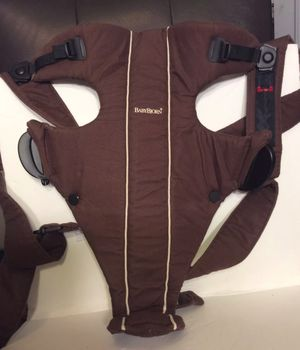 Baby Bjorn baby carrier chocolate for Sale in Lockport, NY