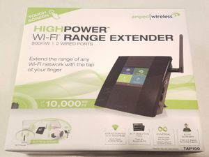 Amped Wireless High Power WIFI Range Extender for Sale in Columbus, OH