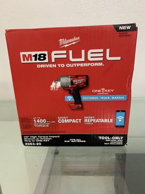 """M18 FUEL™ w/ ONE-KEY™ High Torque Impact Wrench 1/2"""" Friction Ring for Sale in Coral Gables, FL"""