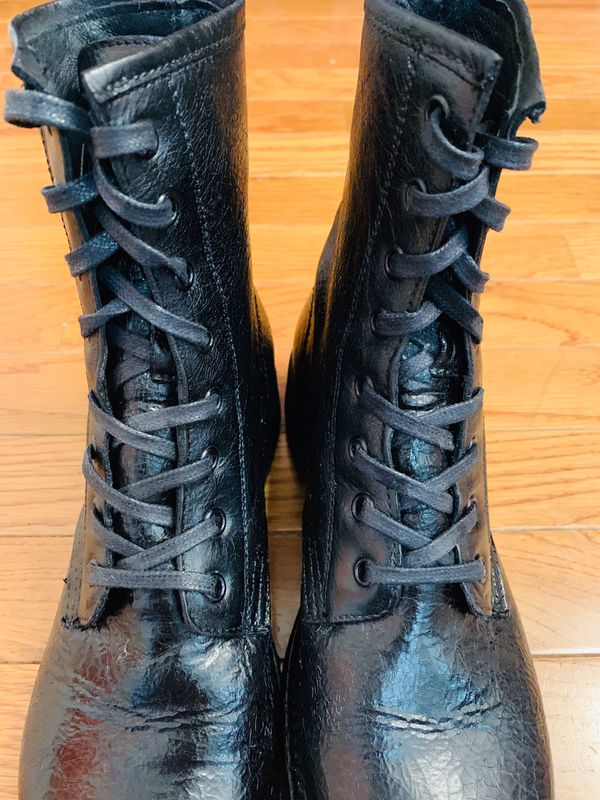 FRYE Combat Lace Up Boots Women's Size 8