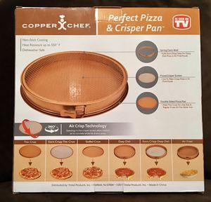 """Copper Chef Perfect Pizza and Crisper Pan 15"""" for Sale in Gainesville, FL"""