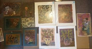 Large selection of orriginal Abstract paintings/ pastel drawings for Sale in Seattle, WA