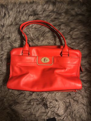 Kate Spade Tote Bag in Bright Orange for Sale in GRANDVIEW, OH