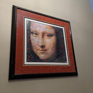 Mona Lisa Photo Collage for Sale in Tacoma, WA