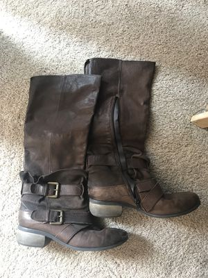 Leather boots for Sale in San Diego, CA