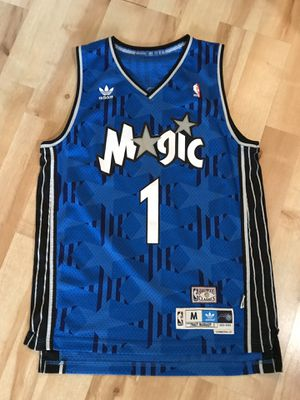 Tracy McGrady Magic #1 Jersey (blue, size M) for Sale in Willowbrook, IL
