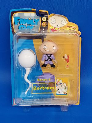 Family Guy BERTRAM Action Figure Series 6 RARE Mezco Toy Scale New NIP 2006 for Sale in Everett, WA