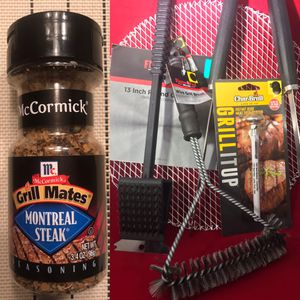 """""""Grill it up"""" X-Mas gift! W/Gift Bag - ready to go - 6 pc BBQ set w/Spice! Pickup Southport for Sale in Indianapolis, IN"""