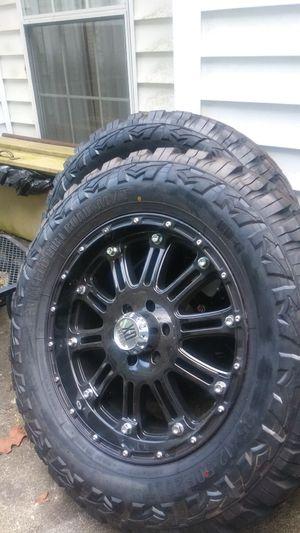 4 big mud tires RED DIRT Road M/T 35×12.50R20LT for Sale in Hampton, GA
