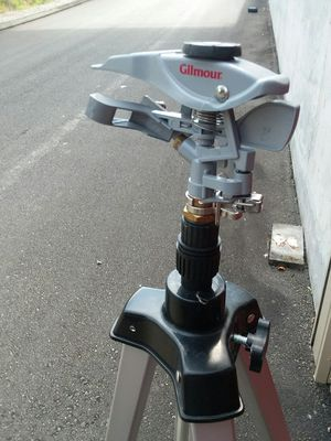 Gilmour telescoping tripod lawn sprinkler for Sale in Federal Way, WA