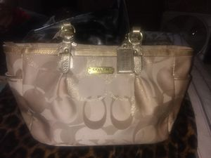 Authentic Coach purse thank you for Sale in Fresno, CA