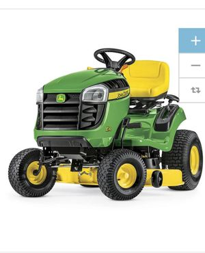 John Deere E100 17.5-HP Automatic 42-in Riding Lawn Mower with Mulching Capability (Kit Sold Separately) for Sale in Jersey City, NJ