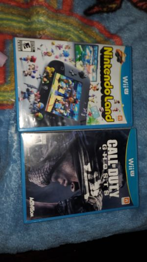 Call of Duty Ghosts and Nintendo Land for Sale in Dallas, TX