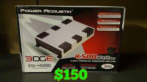4500 watt bass amplifier with bass knob for Sale in San Bernardino, CA