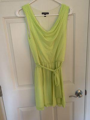 Express women dress neon yellow size xs for Sale in Las Vegas, NV