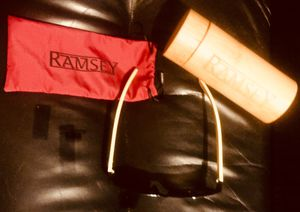 Ramsey Sunglasses Prototype with Silk Case and Bamboo Case for Sale in Nashville, TN