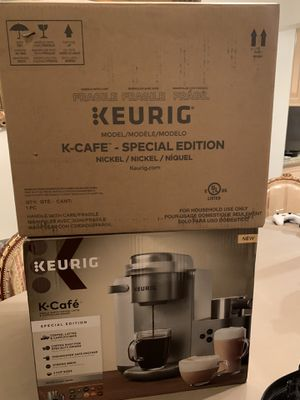 Keurig K-Cafe Special Edition with milk frother brand new for Sale in Los Angeles, CA