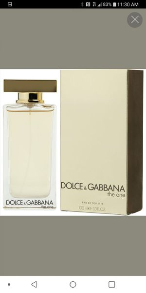 Dolce & Gabbana The One (Women) Authentic for Sale in Chicago, IL