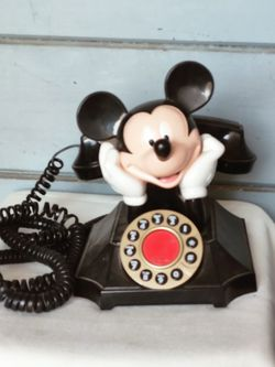 Very Old Mickey Mouse Rotary Dial Phone for Sale in Fresno,  CA