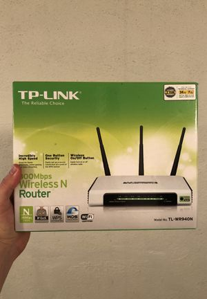 Wireless router TP-Link Brand New for Sale in Denver, CO