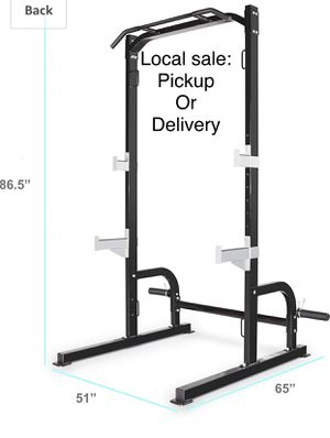Marcy Olympic Half rack strength cage brand new in box! Pull ups , bench press , squats , holder for Olympic weights and more!! Great exercise liftin for Sale in Edgewood, WA