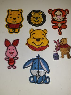 Winnie the Pooh 7 patch lot new for Sale in Los Angeles, CA
