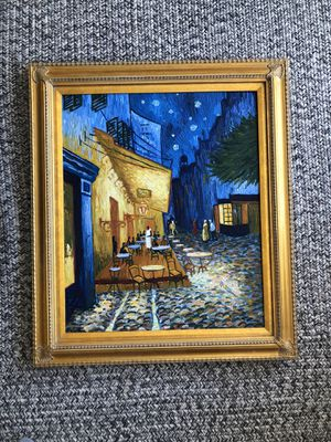 Starry Night recreation - actual painting! for Sale in Detroit, MI